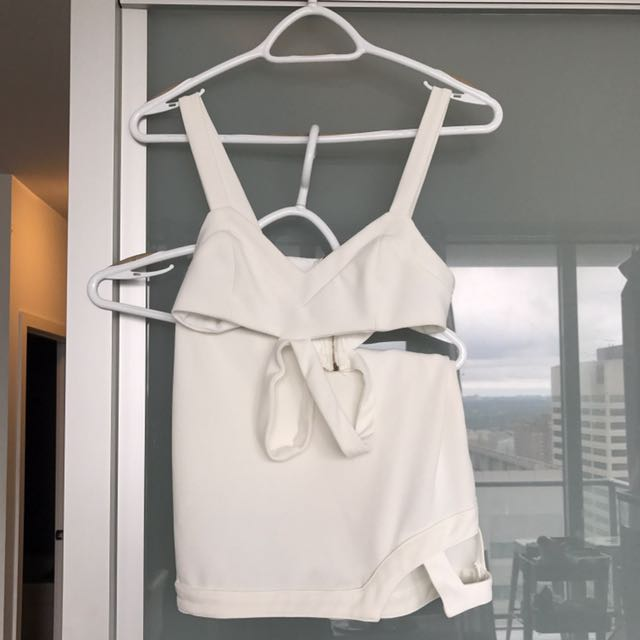 2 Piece White Set From Ava