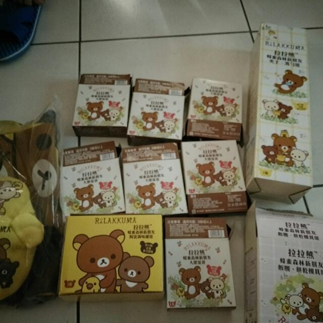 7-11 拉拉熊 懶熊