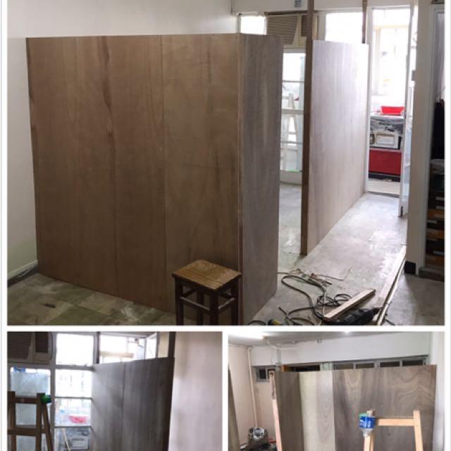 油漆翻新、假天花、水電、間隔