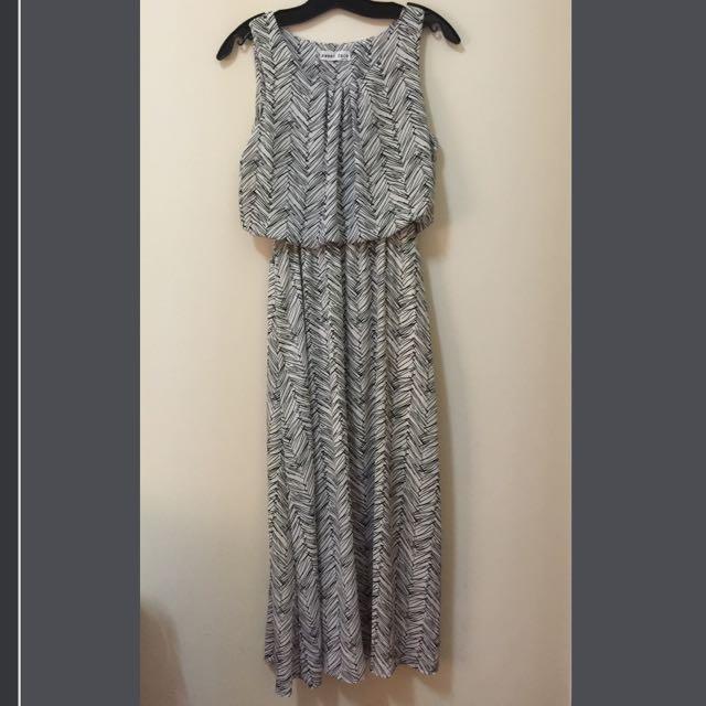 雪紡長洋裝