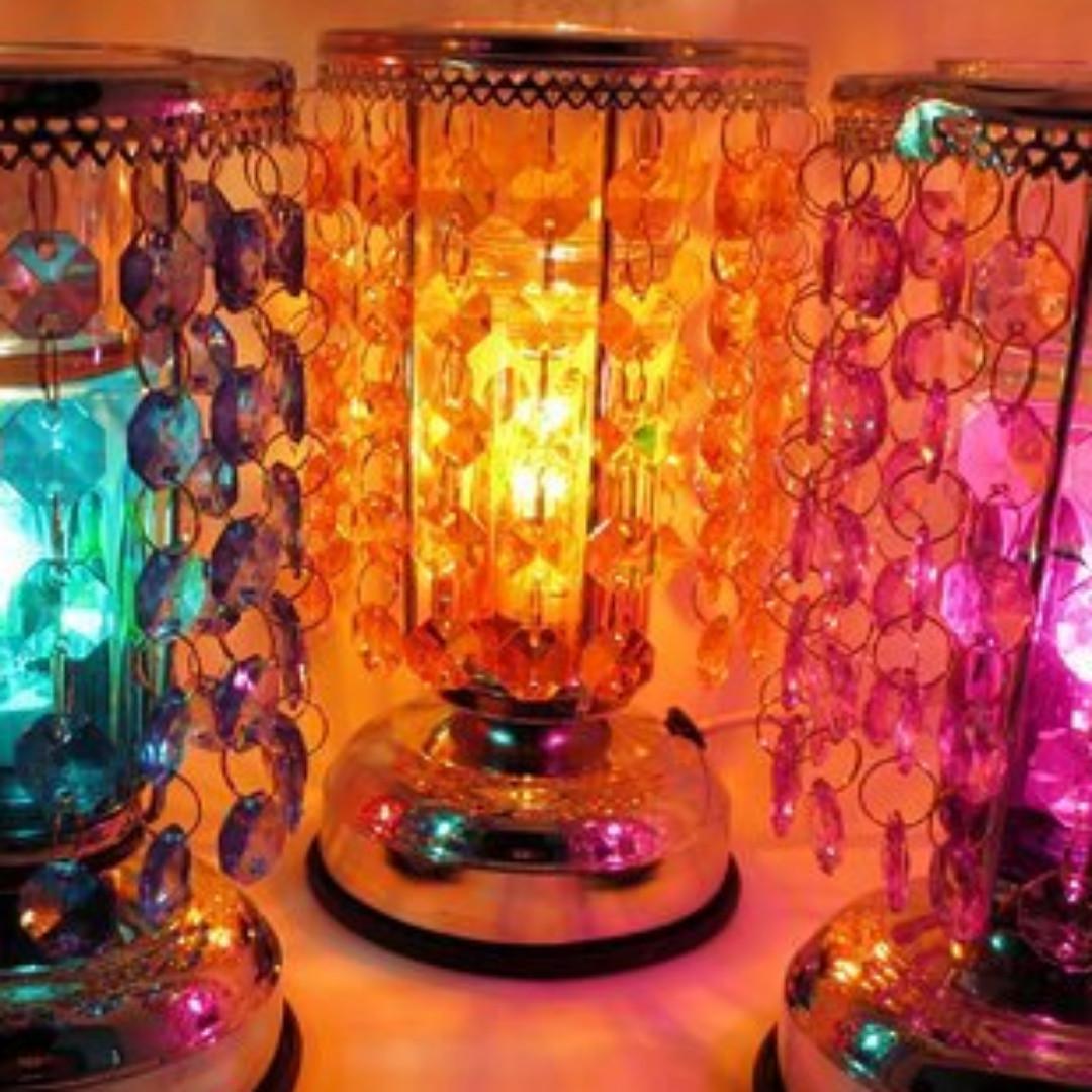 珠簾觸碰式薰香燈 三段式