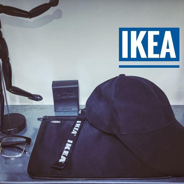 全球首發 IKEA 暗黑系 老帽