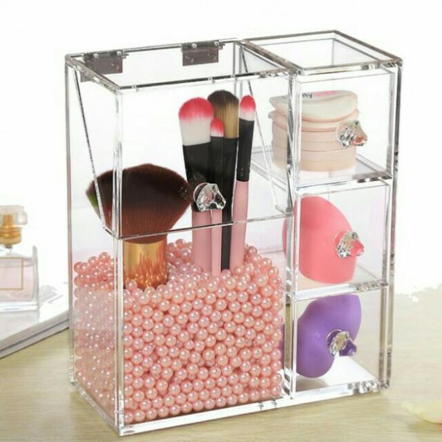 Acrylic Brush Organizer Php1,150