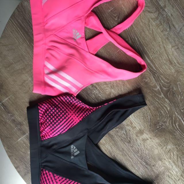 Adidas Sport Bras x2