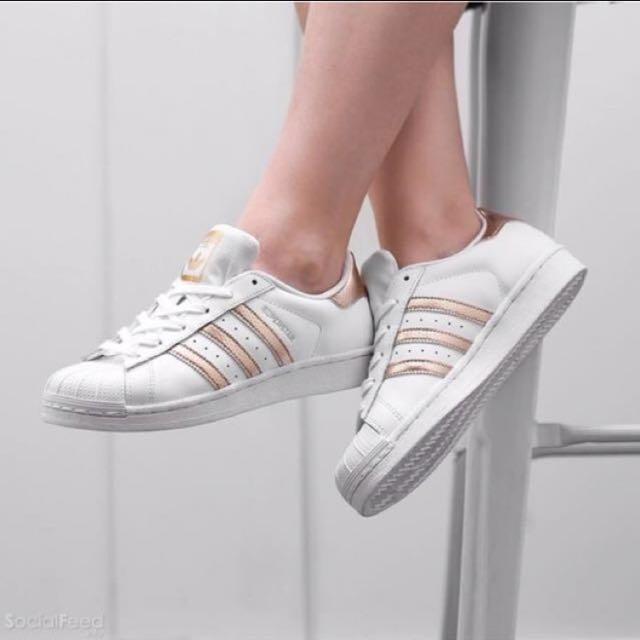 Adidas Superstar Gold Strip, Women's