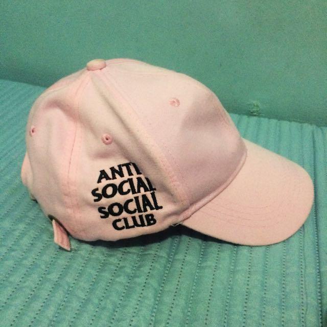 Anti Social Social Club Cap (Pink)