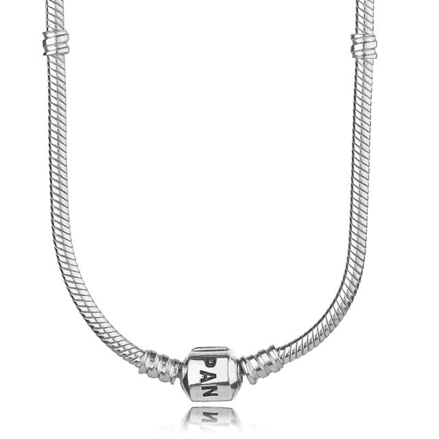 Authentic 50cm Pandora Charm Necklace