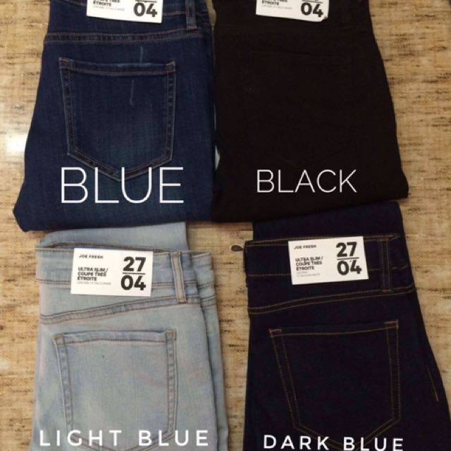 Authentic Joe Fresh Ultra Skinny Jeans