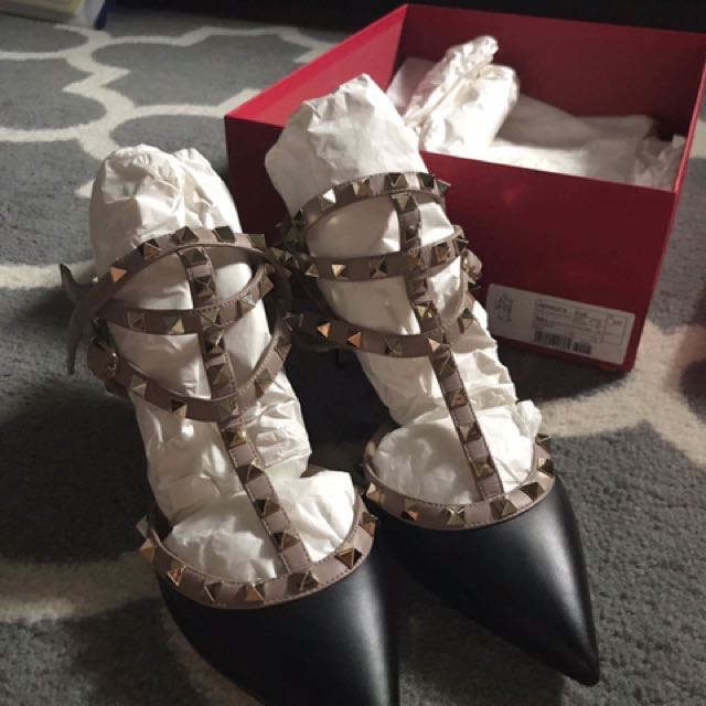 Authentic Preloved Valentino kitten Heels
