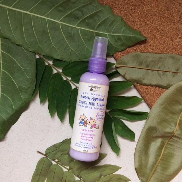 BABY INSECT REPELLENT GOAT'S MILK LOTION 👶🏻