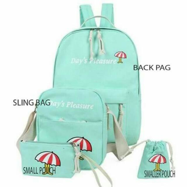 Back Pack 4 in 1