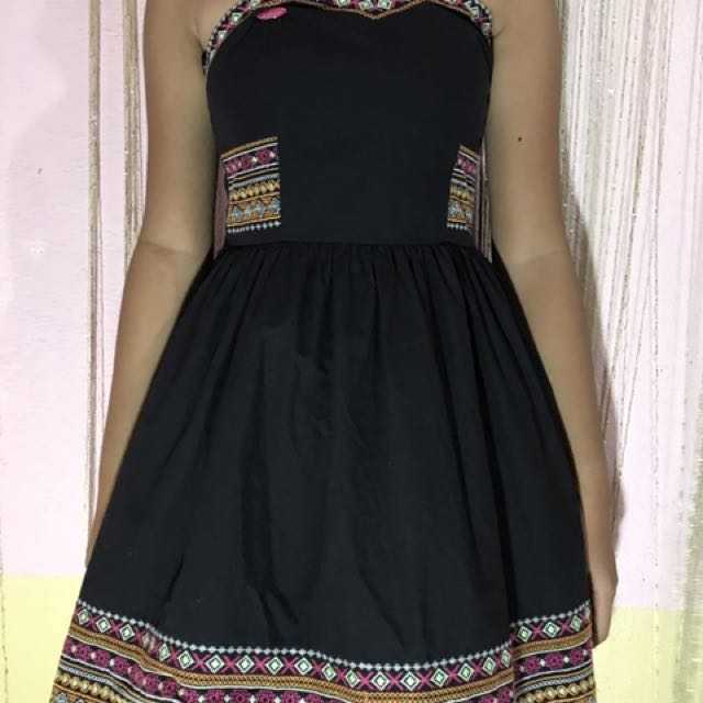 Black Aztec Candie's Dress