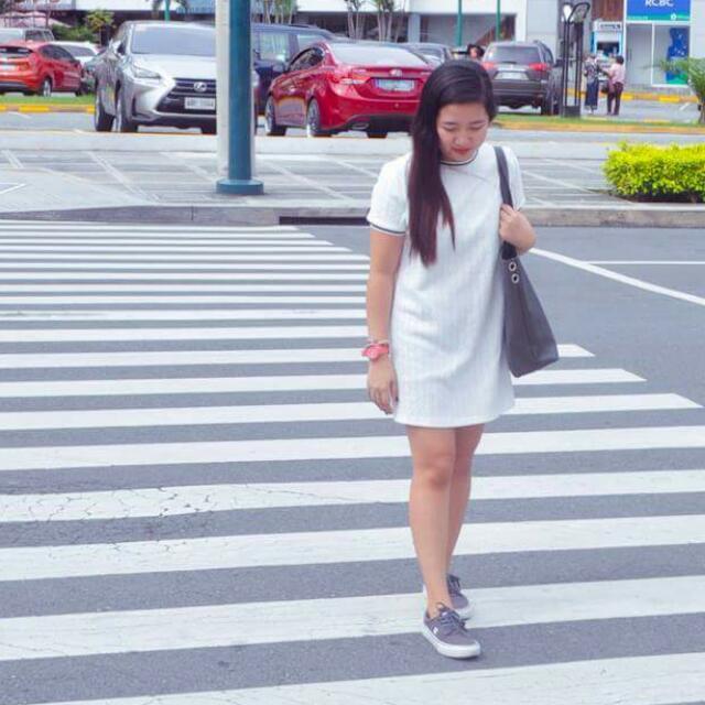 Black Sheep White Dress