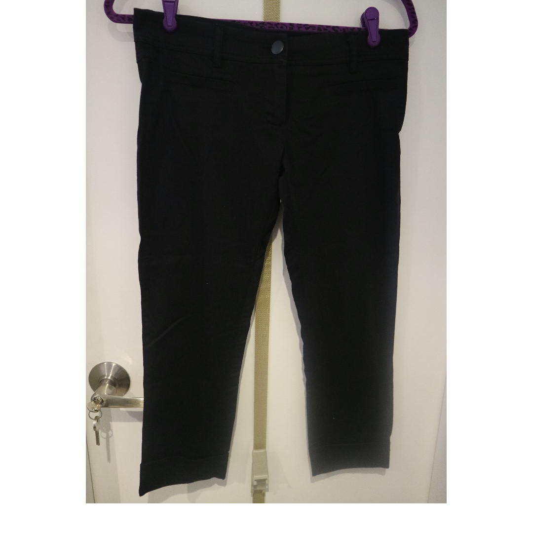 black trousers/ pants