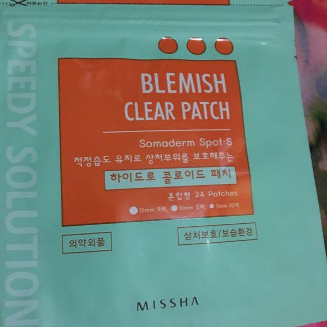Blemish Clear Patch  By Missha