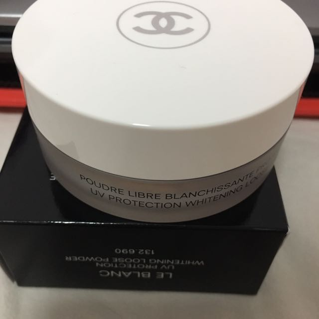 76c8546bc1 BN AUTH Chanel Le Blanc Whitening Loose Powder SPF50, Health ...