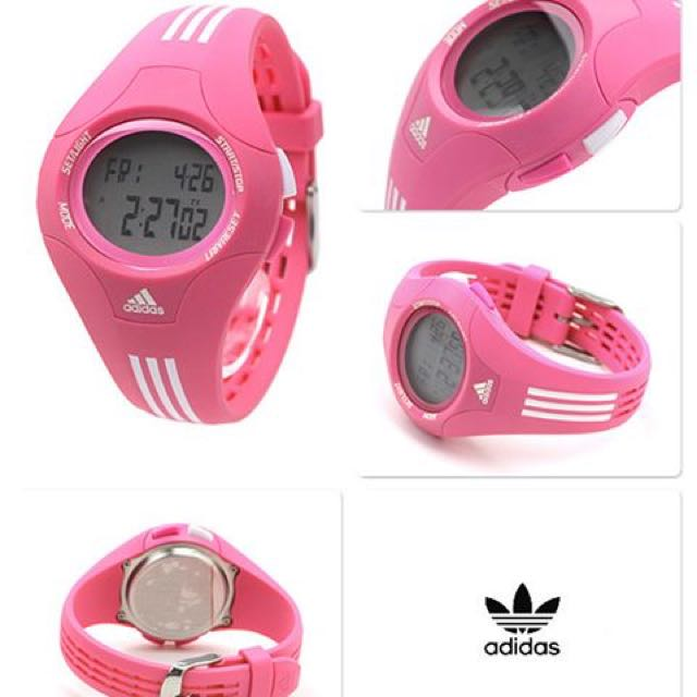 Brand New, Genuine Adidas Sports Performance Digital Pink Watch
