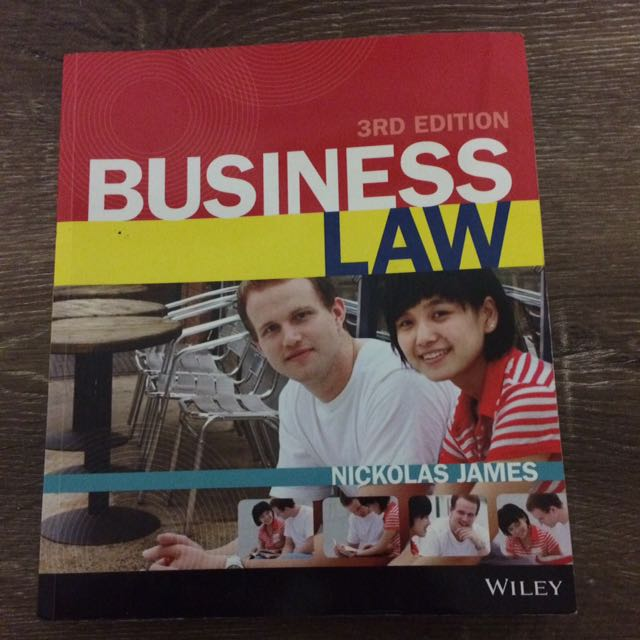 Business Law 3rd Edition by Nickolas James