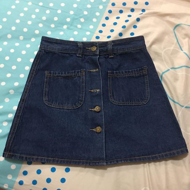 Button Skirt