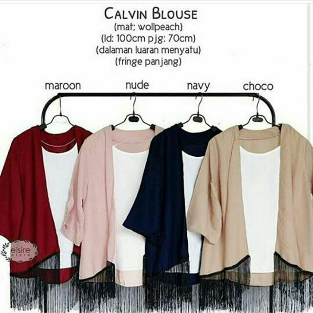 Calvin Blouse Fit L