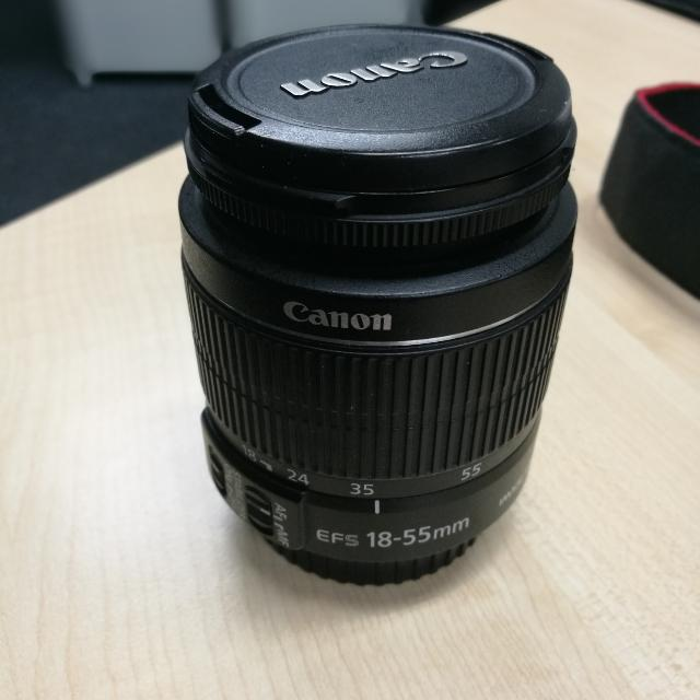 Canon 18-55mm Is ii Kitlens