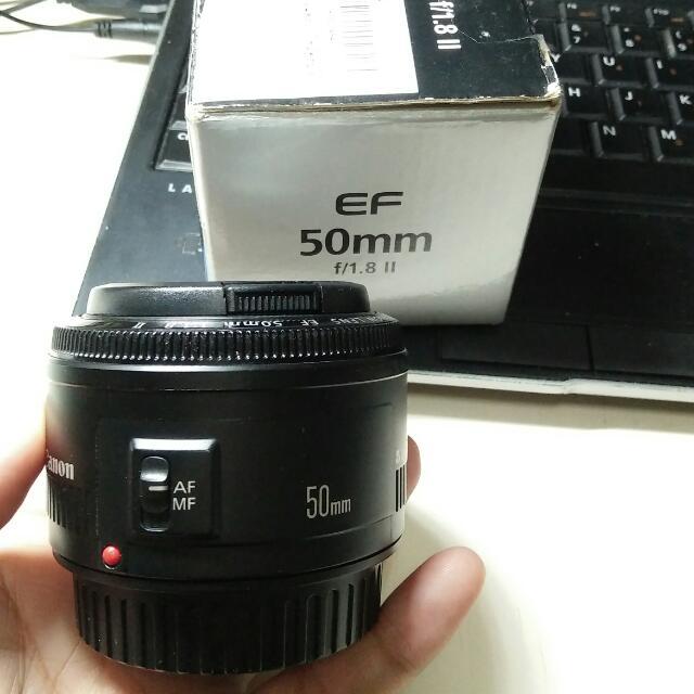 Canon 50/1.8 ii (2nd)  
