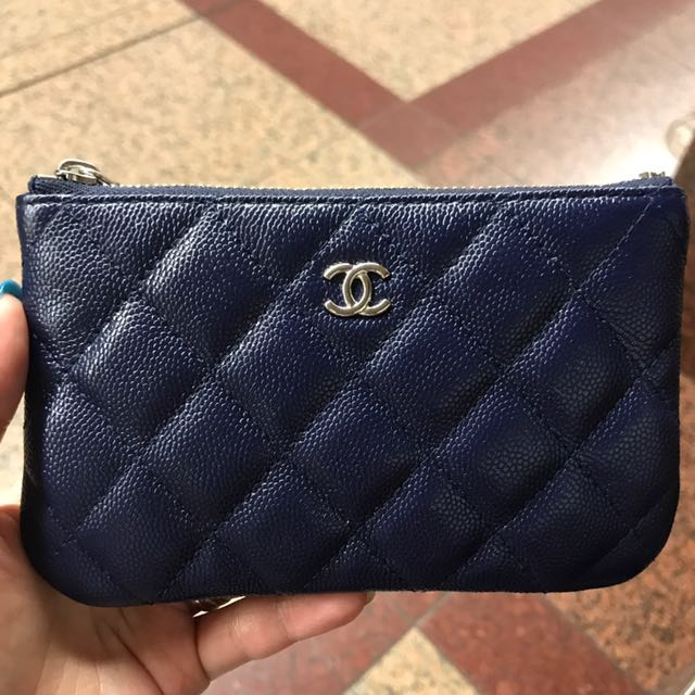 9e1bc62104cf Chanel Mini O Case Pouch Caviar