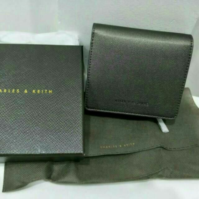 Charles N Keith Mini Square Wallet