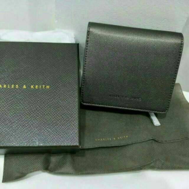 Charles N Keith Mini Square Wallet