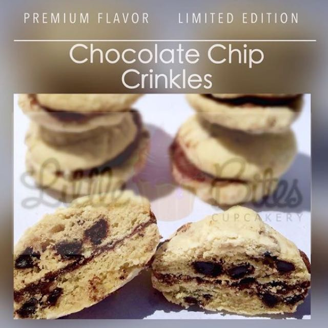 CHOCOLATE CHIP CRINKLES BY LITTLE BITES