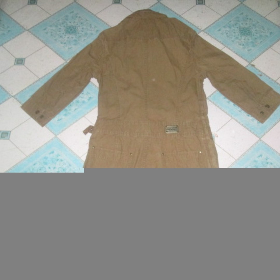COAX coat dress brown with hood