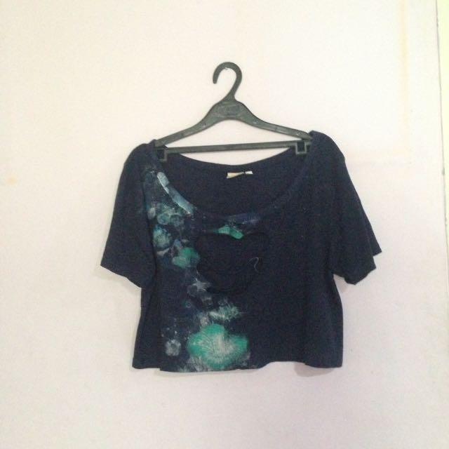 Crop Top / Kaos / Atasan