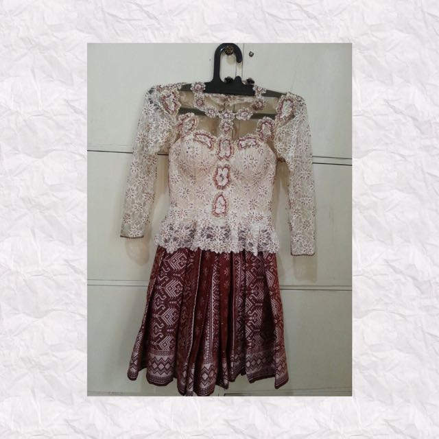 Dress Kebaya Modern Full Payet