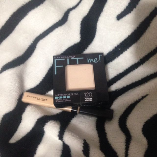 Fit me Concealer and Foundation