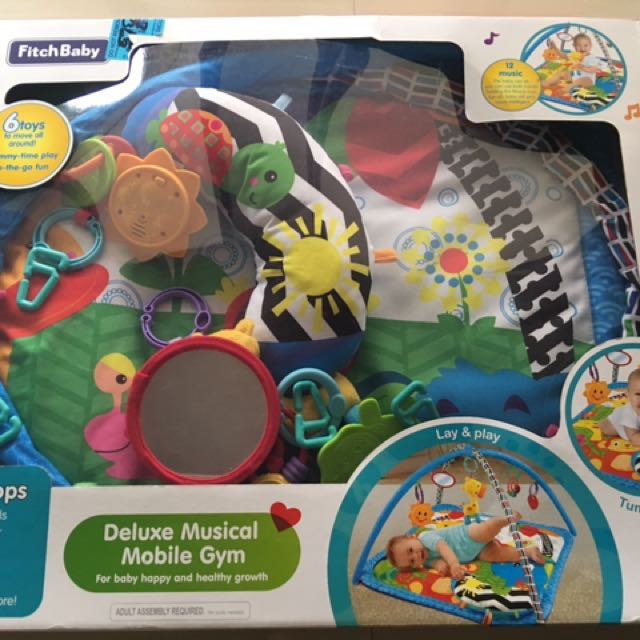 Fitch Baby Deluxe Musical Mobile Gym