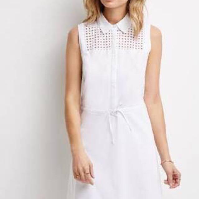 Forever21 White Dress