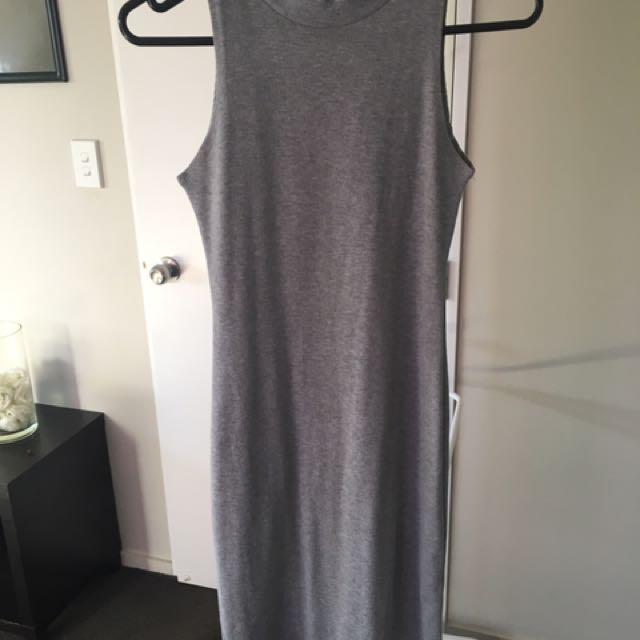 Grey Middy Dress