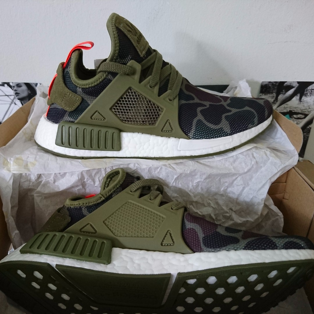 quality design f2c5b 7982a GSSALE CLEARANCE Adidas NMD XR1 DUCK CAMO Green Olive Cargo, Mens Fashion,  Footwear on Carousell