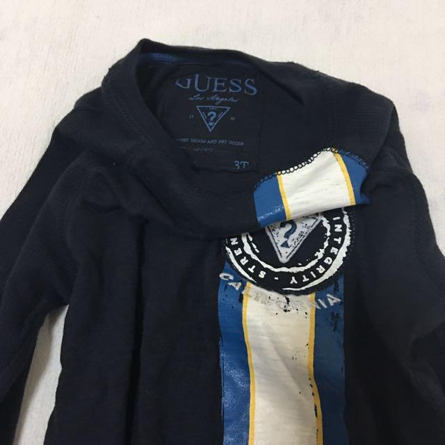 Guess Navy Blue Longsleeves