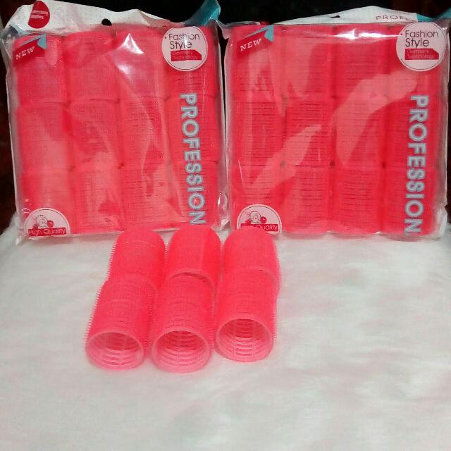 Hair Velcro Rollers Set Php 180.00