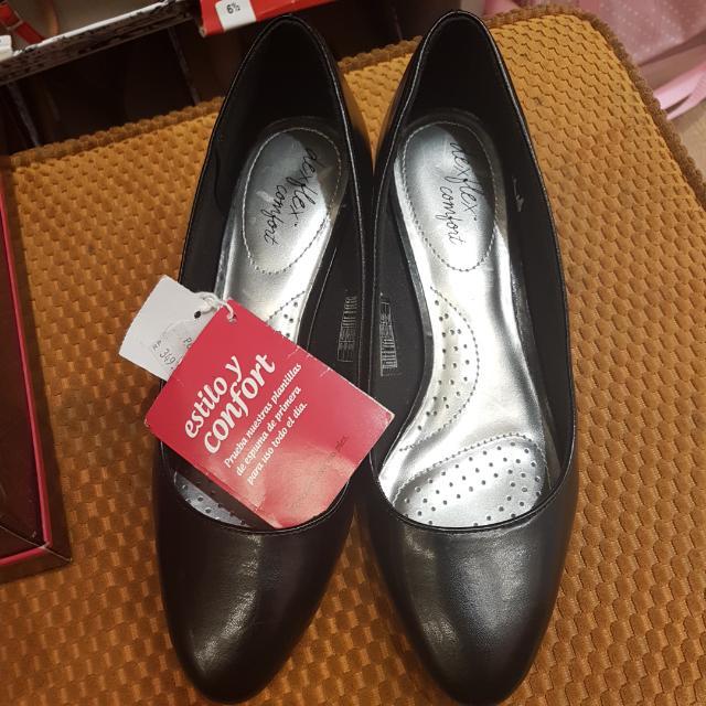 Heels Black Deflex Comfort