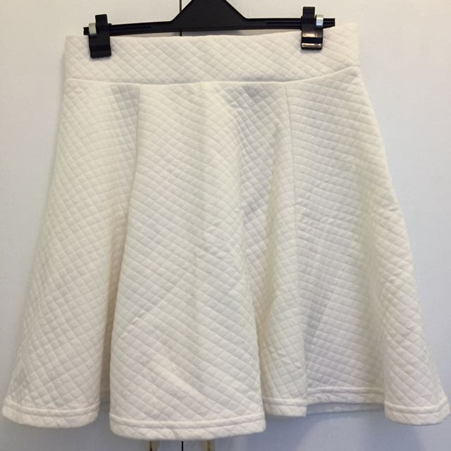 H&M White Skirt (XS)