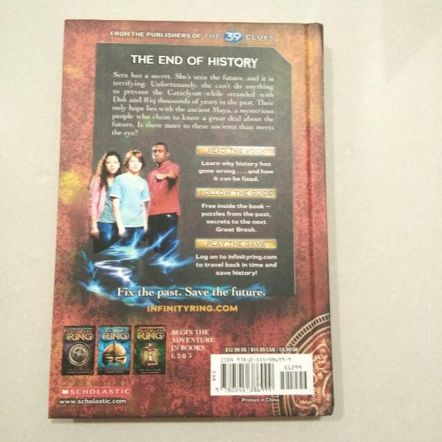 Infinity Ring : Curse Of The Ancients (Book 4)