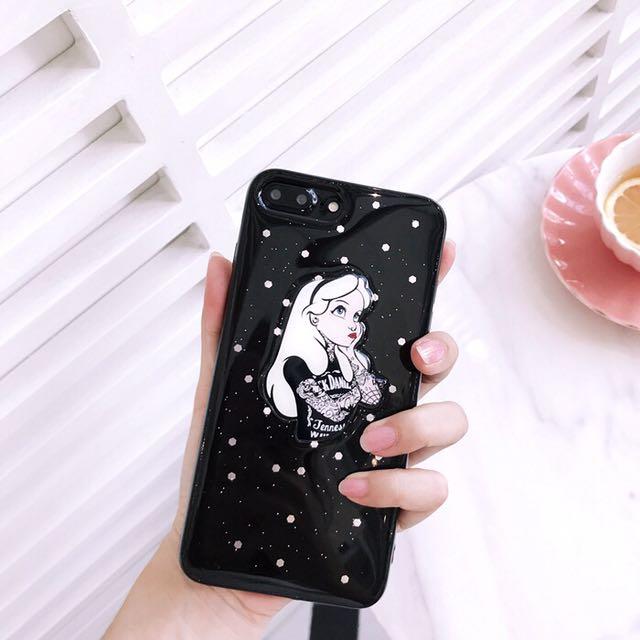 Iphone 77 Plus 66 Plus Grunge Alice In Wonderland Edgy Tattoo