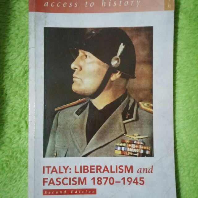 Italy Liberalism And Fascism 1870 - 1945