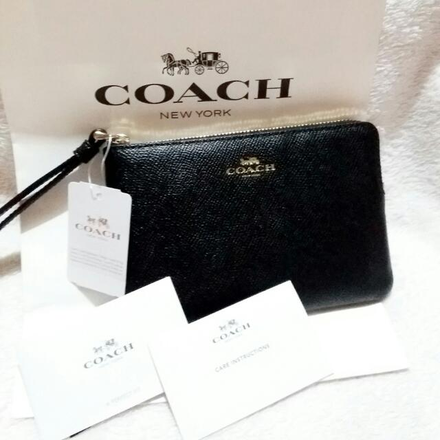 Just In Authentic Coach Wristlet