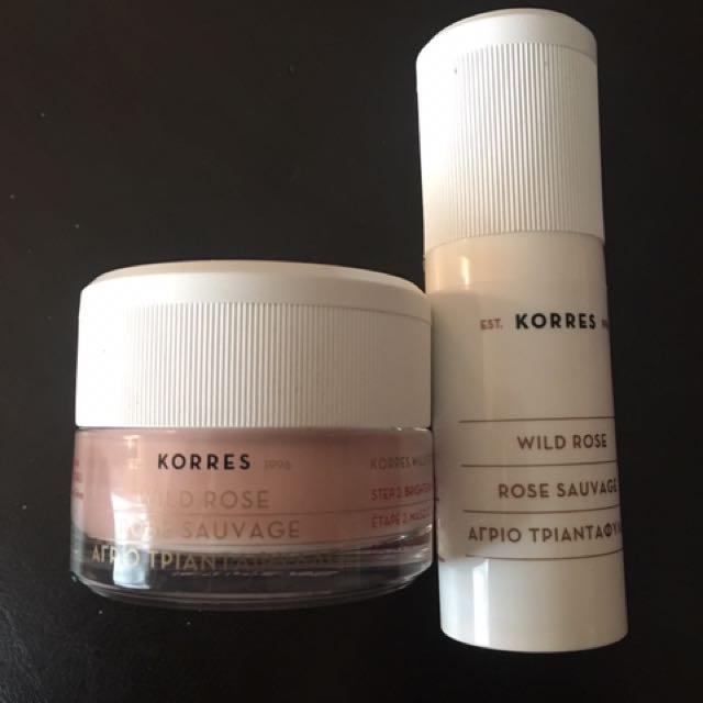 Korres Wild Rose 2-step vitamin C Petal Peel