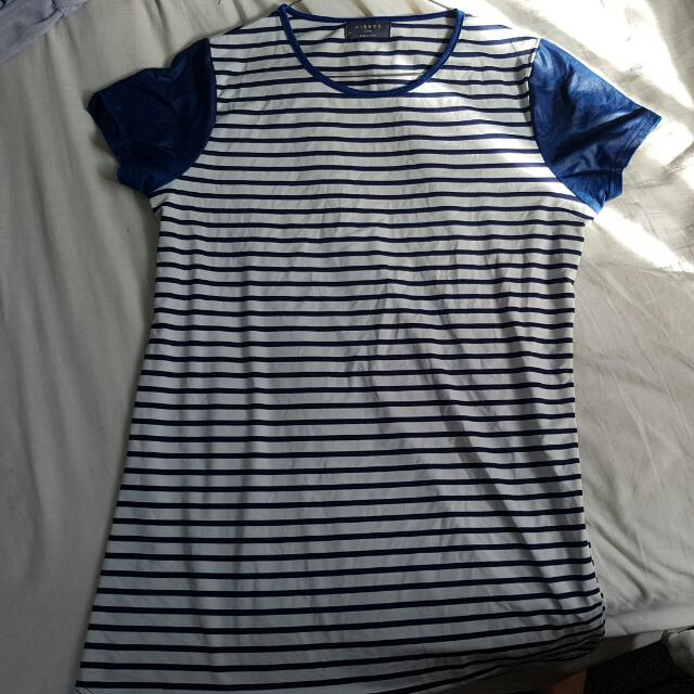 Large Mirrou STRIPPED SHIRT