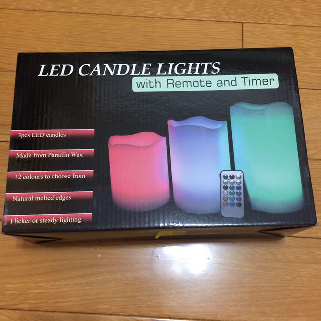 12種顏色轉換LED遙控造型夜燈