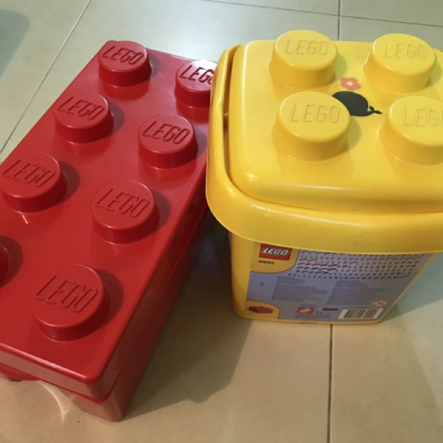 Lego Storage Containers Babies Kids Toys Walkers on Carousell